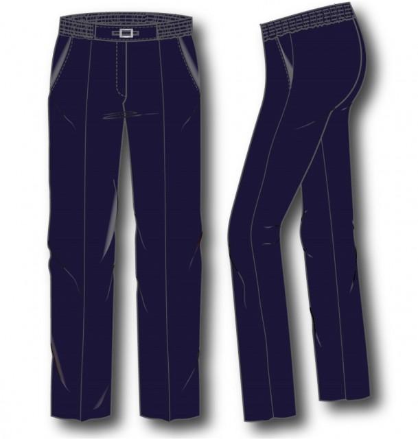 Livia-z  Pantalon elastiek rondom gesp