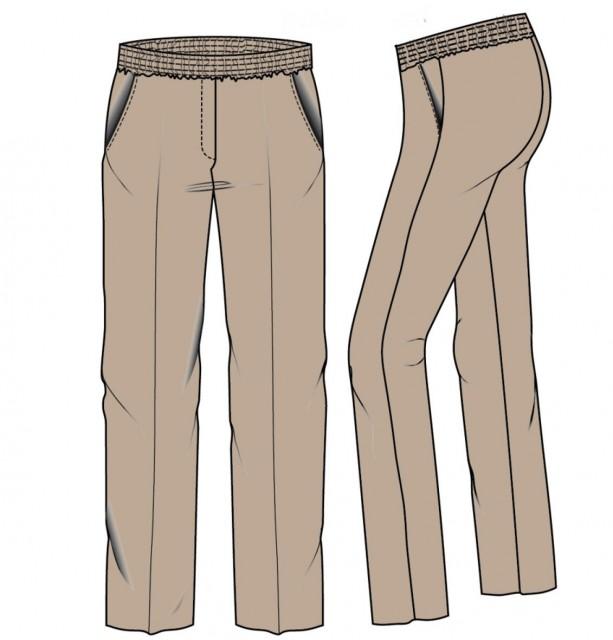 Lily-z  Pantalon elastiek rondom