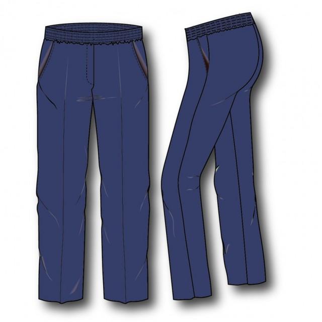 Mia-z  Pantalon elast. rondom melange