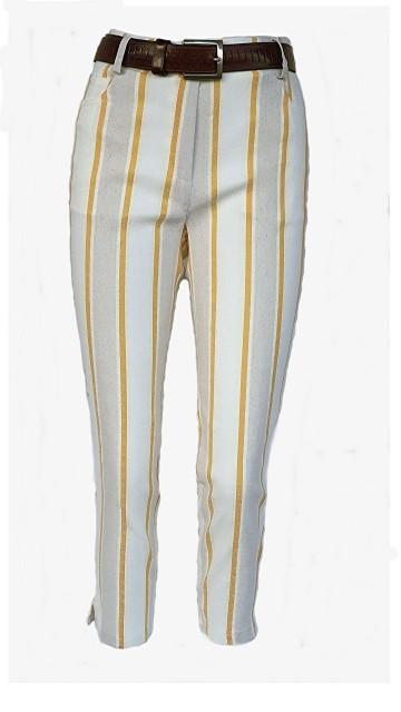 Augusta-104 Benga linnen Stripes